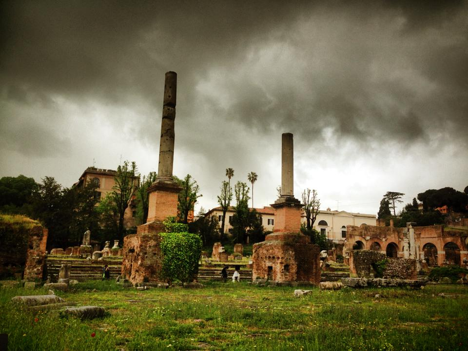 Nolstagia In Palatine Hill And The Forum Rome Sarah Begum